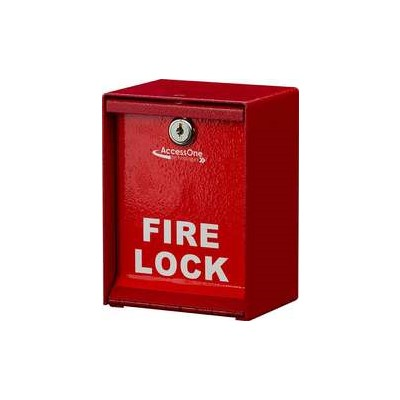 Fire Lock Boxes-Knox or Padlock