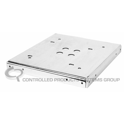 Mounting plate for post mount